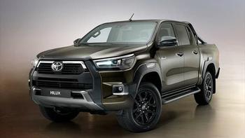 Новый Toyota Hilux пикап 2020-2021 с новым двигателем