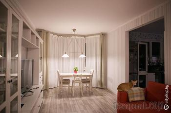 Уютный ремонт в кредитной квартире