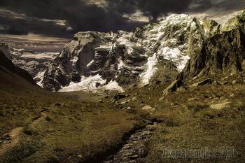 Кавказ. Безенги.