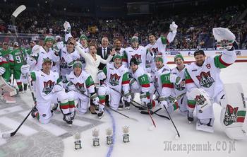 Сычев на льду и танцы под Лободу: старт Матча всех звезд КХЛ