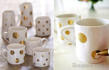 Роспись стаканов и керамических кружек