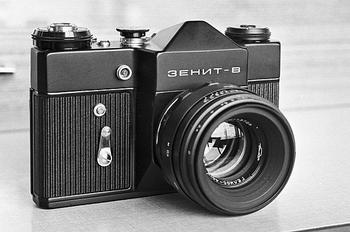 В России хотят возродить производство фотоаппаратов «Зенит»