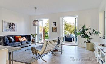Светлый дом 133 м² в Гётеборге с шикарной террасой