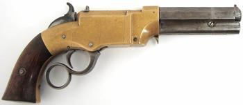 Магазинные пистолеты Volcanic (США)