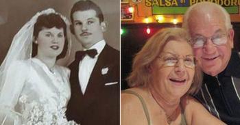 Прожившая вместе 69 лет пара умерла, держась за руки