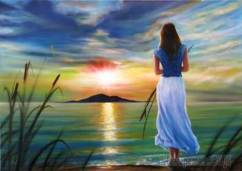 Провожать закаты и встречать рассветы (Стих)