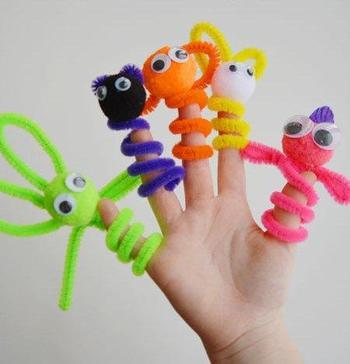 Как сделать кукол для кукольного театра своими руками