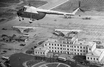 10 архивных кадров аэропорта Шереметьево времен Советского Союза