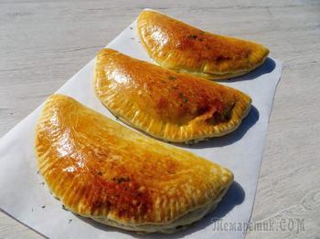 Вкуснятина! Самые лучшие чебуреки с сыром в духовке