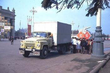 Москва накануне 1 мая 1982 года