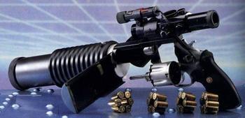 Немецкий бесшумный револьвер PDSR 3