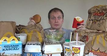 Есть бургеры и не толстеть: блогер неделю питался в «Макдоналдсе» и похудел