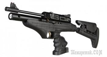 Hatsan AT-P2 – большой пистолет или маленький карабин?
