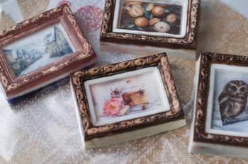 Мыло в виде акварельных картин от Екатерины Мангорель
