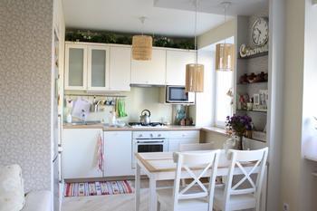 Кухня-невидимка: скандинавский стиль