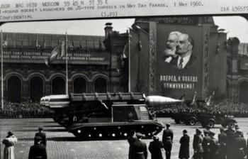 Военная техника СССР с камер американских шпионов
