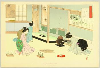 Япония. Чаепитие в стиле дзен