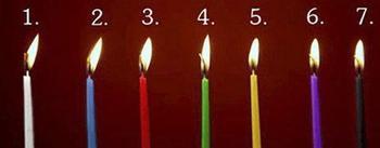 Тест-предсказание: выберите свечу и узнайте, что вас ждет в жизни