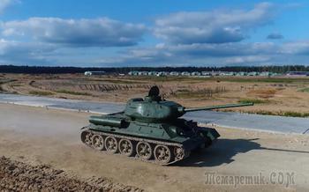 Как поставить на дыбы советский танк Т-34 и другие интересные факты о нем