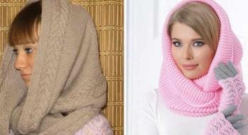Как связать шарф, снуд или шарф-хомут