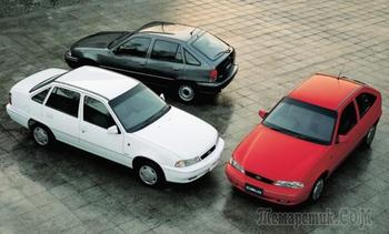 Opel, Pontiac и Chevrolet: как Daewoo Nexia пыталась покорить весь мир