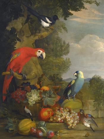 Румынский и английский художник Тобиас Штрановер  (1684-1756)