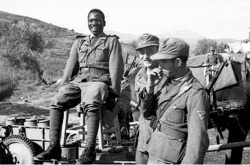 Пальма и свастика. Чернокожие солдаты вермахта пытались покорить Кавказ