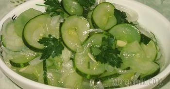 Зимний салат из огурцов ,,Щедрое лето,,