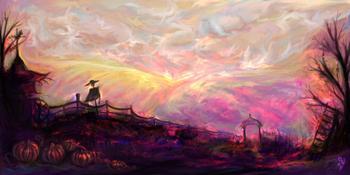 Чисто, светло, наивно: сказочные пейзажи Виктории Юрковской