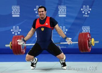 Новая беда: российских тяжелоатлетов отстранили за допинг