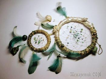 Плетем ловец снов «Морские сокровища»