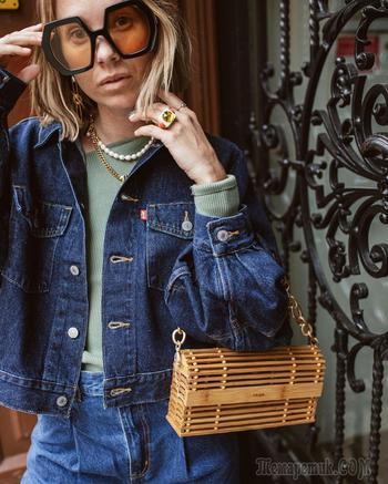 С чем стильно носить джинсовку осенью: 20 модных комбинаций