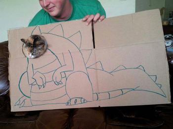 Что происходит, когда у владельцев кошек есть картон и много свободного времени