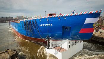 Запущены реакторы самого мощного в мире российского атомного ледокола