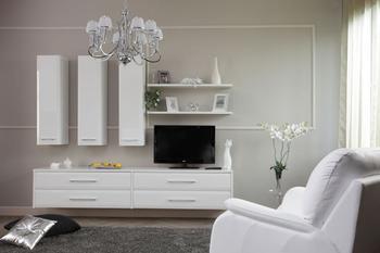 Мебель белого цвета - решение для стильного интерьера