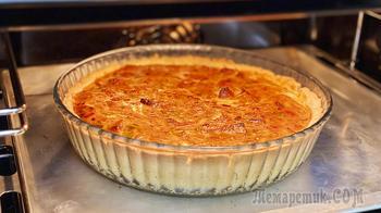 Песочное тесто для пирога, которое получается у всех! Киш Лорен с курицей и овощами