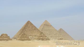 Пирамида Хеопса  - «Седьмое чудо света», сохранившееся до наших дней