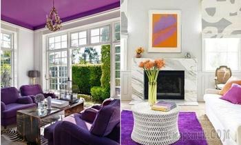 Ультрафиолетовый: Как и где использовать этот роскошный цвет, чтобы не переборщить и не получить взрыв мозга