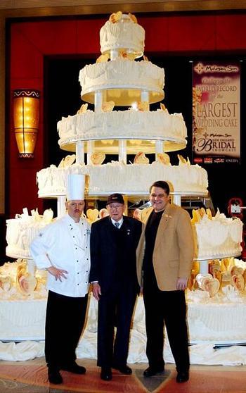 Самый большой торт в мире и другие рекорды кондитеров