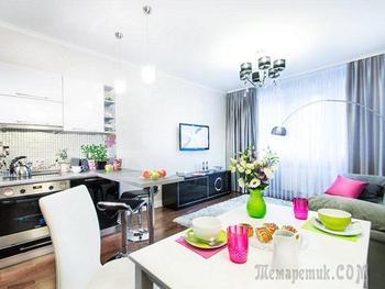 Двухкомнатная квартира молодой семьи