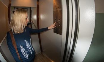 Как проехаться в лифте без остановок