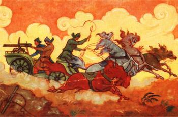 Тачанка, мифы и факты о главном символе Гражданской войны