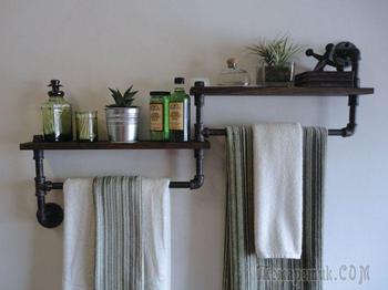 Невероятные идеи для тех, у кого маленькая ванная