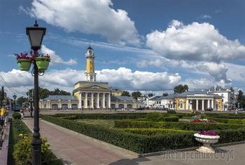 В Костроме Сусанинская площадь
