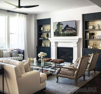 Детали имеют значение: особняк в США с потрясающим интерьером