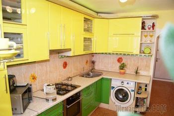 Самодельные кирпичи, светильники из веревок и коврика для посуды