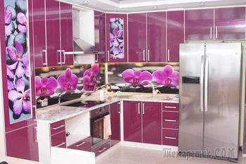Кухня: фиолетовый для любимой тещи