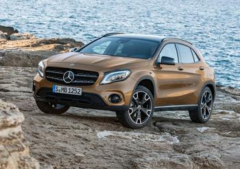 Mercedes GLA 2017 – плановое обновление паркетника