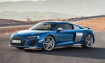 Audi R8 2019 – обновленный суперкар Ауди Р8
