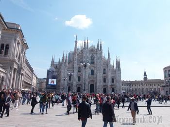Путешествие в Милан и на озеро КОМО. Италия до СOVID-19. Продолжение первой не законченой части